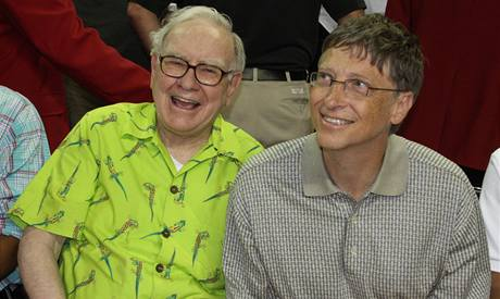 Warren Buffett a Bill Gates