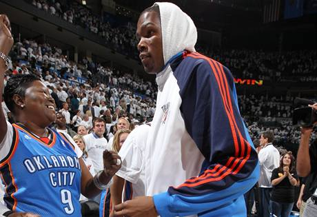Kevin Durant s matkou