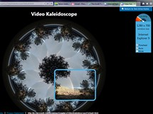 IE9 Video Kaleidoscope