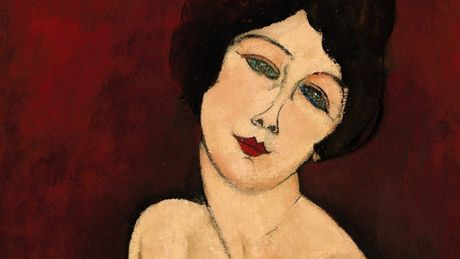 Amedeo Modigliani - La Belle Romaine