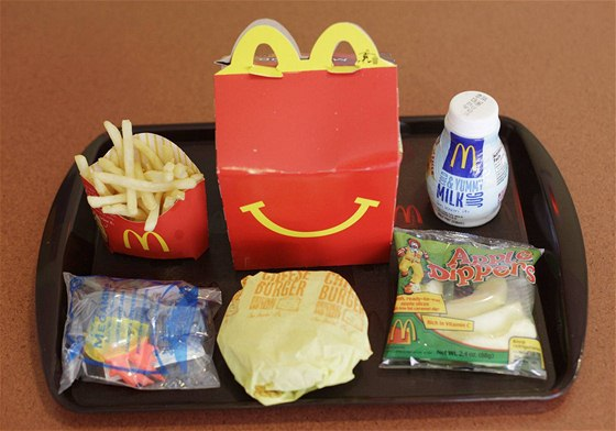 Happy Meal od MC Donald´s.