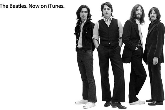 The Beatles na iTunes