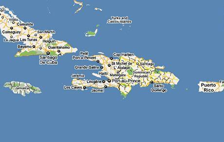 dominikanska republika mapa sveta Pohádkový Karibik: nejmenší ráj světa a divoký tanec v tropickém  dominikanska republika mapa sveta