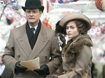 Z filmu The King´s Speech - Colin Firth a H.Bonham Carterová