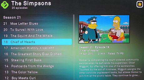 Boxee Box - Simpsons