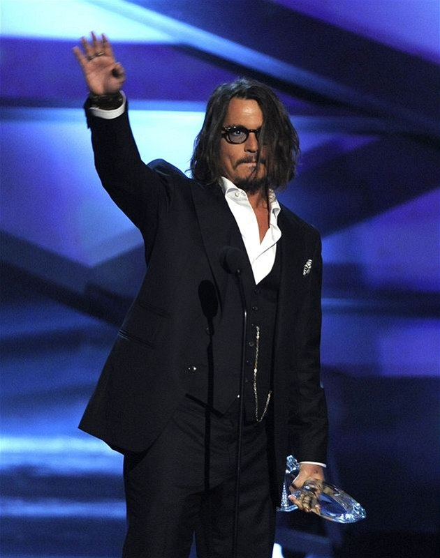People´s Choice Awards 2011: Johnny Depp