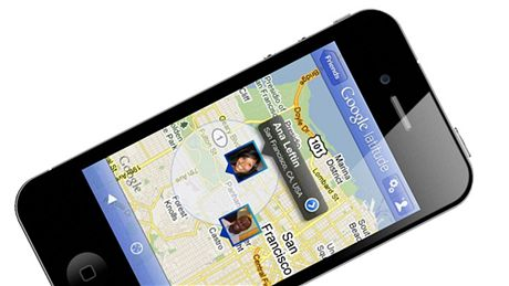 Google Latitude na iPhone
