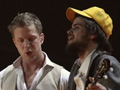 Brit Awards 2011 - Mumford and Sons (Londýn, 15. února 2011)