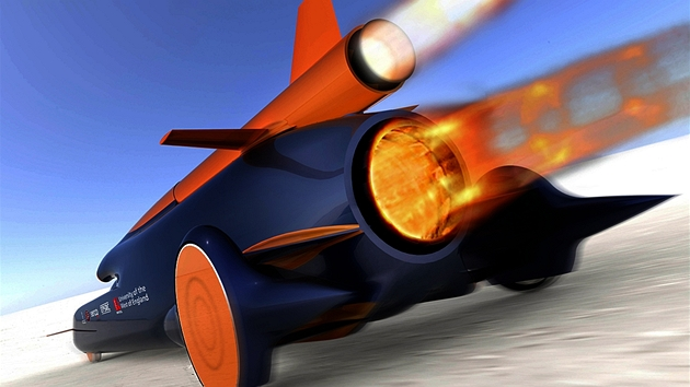 Bloodhound supercar