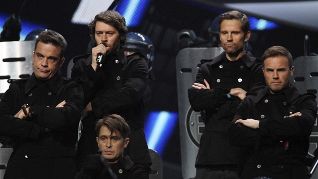 Brit Awards 2011 - Take That (Londýn, 15. února 2011)