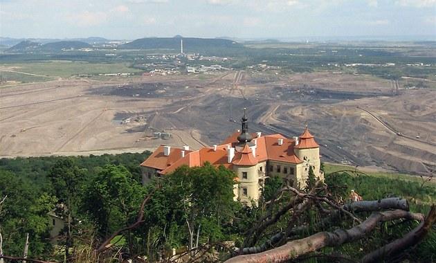 Uhelná komise promluví do konce těžby na severu Čech, řešit má i následky