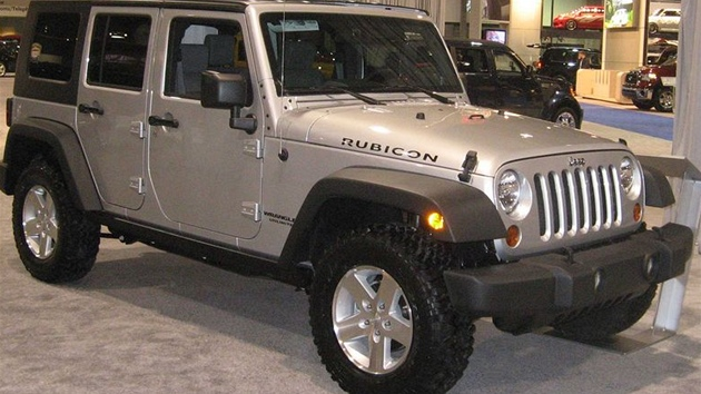 Jeep Wrangler Rubicon.