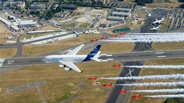 Farnborough Airshow.