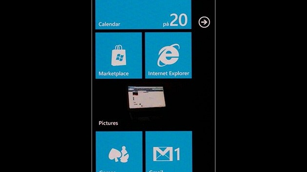 Screenshot Windows Phone 7