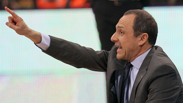 Ettore Messina, trenér Realu Madrid.