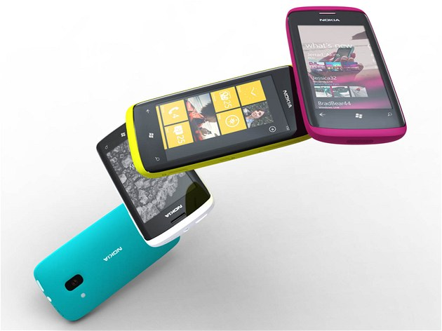 Koncept Nokie s Windows Phone 7