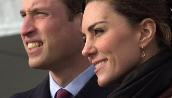 Princ William a Kate