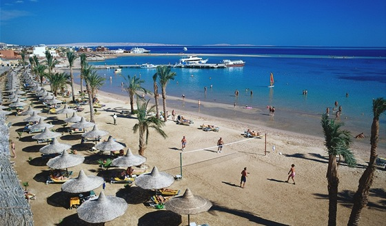 Egypt, Hurghada, Giftun Beach Resort