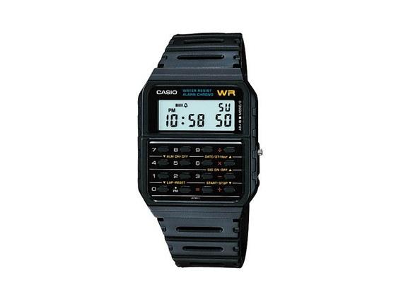 d4c554ae50c S kalkulačkou prodává digitálky například opět Casio v designu z konce  osmdesátých let