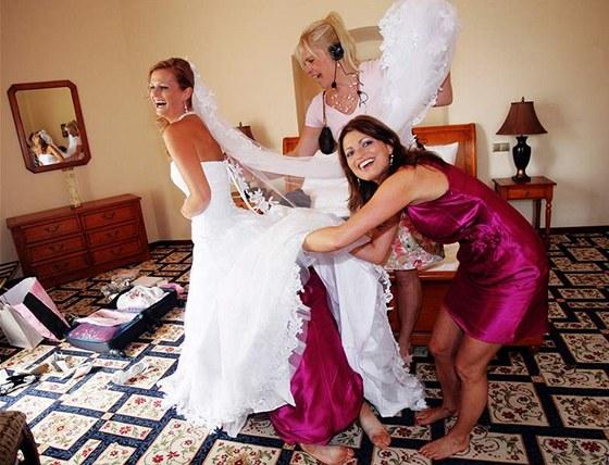 Ukočírovat svatbu není úplně ... 0b4dfe0d26