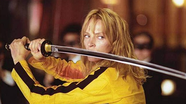 Uma Thurmanová ve filmu Kill Bill