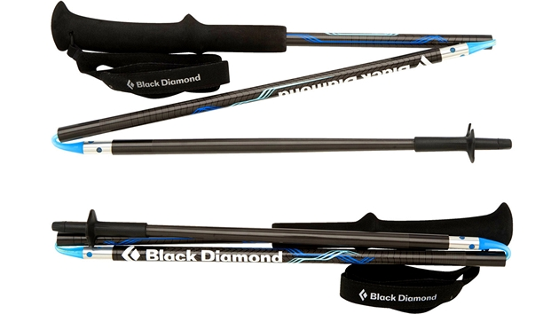 Ultralehké hůlky Black Diamond Distance váží 260 g.