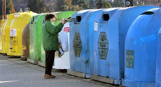Každý Čech loni vytřídil 63 kilogramů odpadu. Nejvíce se třídí na Hradecku