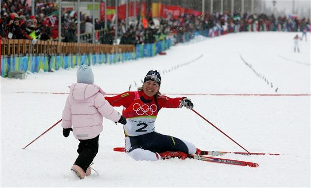 V posledním olympijském závodě kariéry získala česká běžkyně Kateřina  Neumannová vytouženou zlatou medaili. e9b0140b045