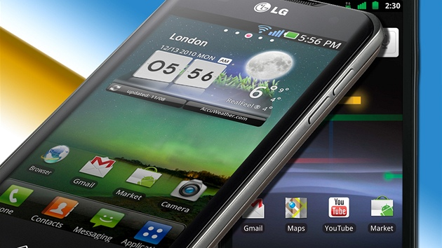 LG Optimus 2X a Google Nexus S