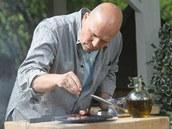 Hrubá mořská sůl je podle Pohlreicha na ochucení hotového steaku ideální.