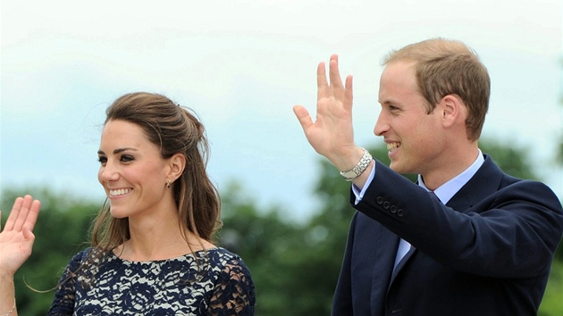 Vévodkyně a vévoda z Cambridge Catherine a William v Kanadě