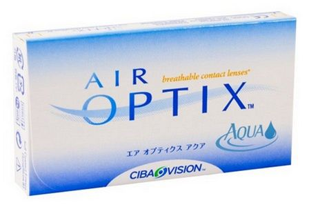 čočky - air optix