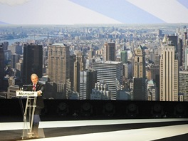 Michael Bloomberg na Imagine Cup 2011