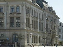 d40a5bf714b Městský dům na náměstí T. G. Masaryka v Přerově. Je postaven ve slohu  pozdního