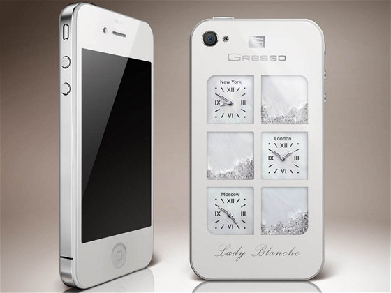 Gresso iPhone 4 Lady Blanche
