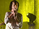 Nick Cave s partou Grinderman na Colours of Ostrava 2011
