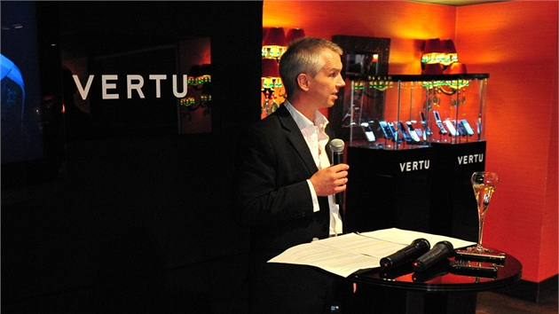 Hutch Hutchison, Head of Concept Creation and Design, Vertu