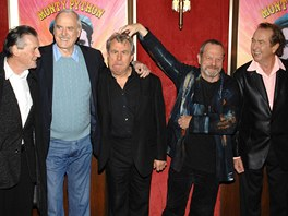 Skupina Monty Python (2009) - Zleva: Michael Palin, John Cleese, Terry Jones,