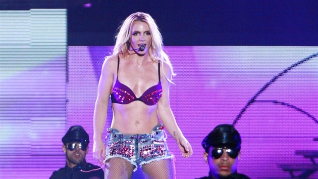 Britney Spears vystoupila v Atlantic City