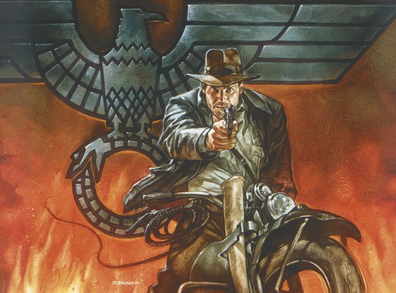 Indiana Jones - komiks (z obálky)