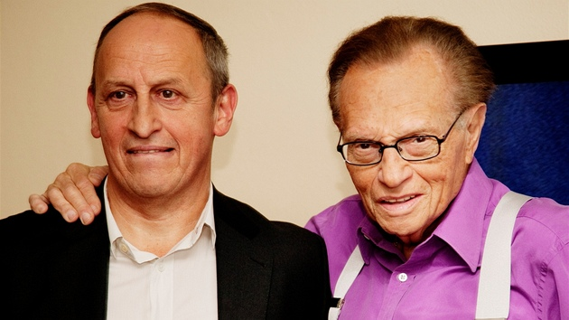 Larry King a Jan Kraus
