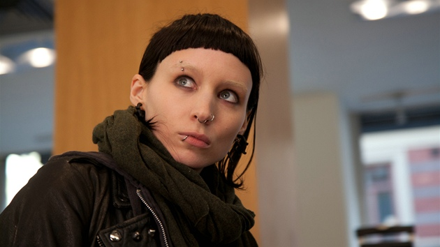 Z filmu The Girl with the Dragon Tattoo (Rooney Mara)