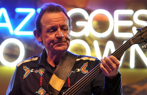 Jack Bruce na festivalu Jazz Goes To Town