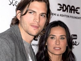 Ashton Kutcher a Demi Moore