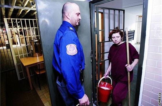 Randí s chlapem, který byl ve vězení