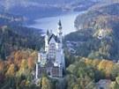 Ludvík II. nechal zámek Neuschwanstein vystavět pro sebe, utíkal se sem ukrývat