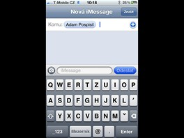 iMessage na iPhonu