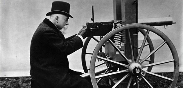 Industrial revolution warfare militarism