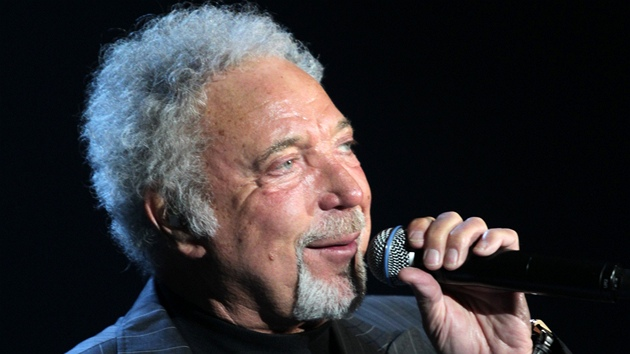 Tom Jones koncertoval 23. listopadu 2011 v Brně