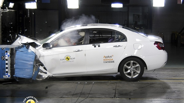 Crash testy Euro NCAP listopad 2011